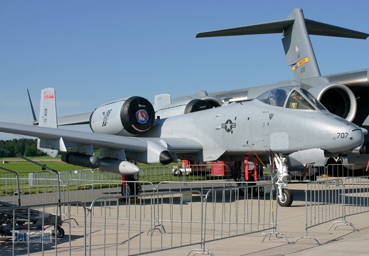 78-0707, Fairchild-Republic A-10A Thunderbolt II, U.S.A.F.